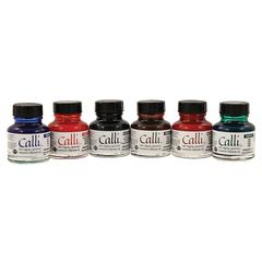 Daler-Rowney Calli Calligraphy Ink 6-Color Set