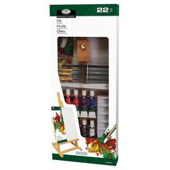 Oil Color Easel Painting Set