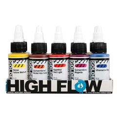 High Flow Acrylic 10-Color Set