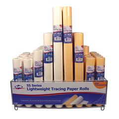 Lightweight Tracing Paper Roll Display