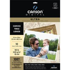 "13"" x 19"" Ultra Range Inkjet Papers Canvas Sheets"