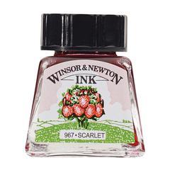 Winsor & Newton Drawing Ink 14ml Scarlet