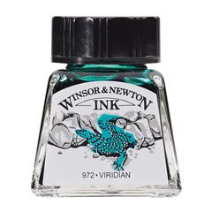 Winsor & Newton Drawing Ink 14ml Viridian