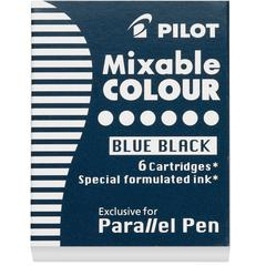Pilot Parallel Pen Mixable Colour Refill 12-Pack Blue Black