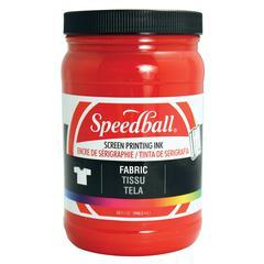 Speedball Fabric Screen Printing Ink Red