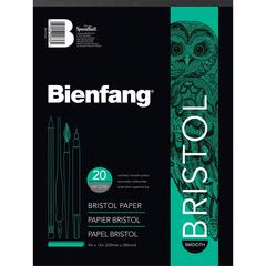 14 x 17 Smooth Finish White Drawing Bristol Board Pads