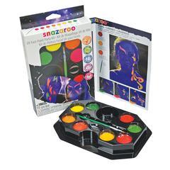 Snazaroo UV Face Painting Party Kit