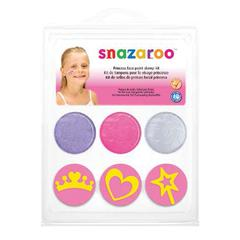 Snazaroo FACE PAINT STAMP KIT PRINCESS
