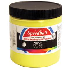 8 oz. Acrylic Screen Printing Ink Primrose Yellow