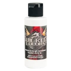 Wicked Colors Airbrush Paint 2oz White