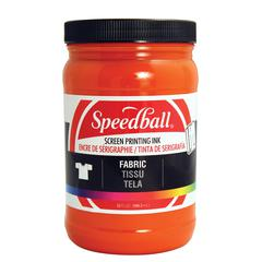 Speedball Fabric Screen Printing Ink Orange