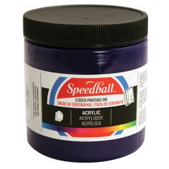 8 oz. Acrylic Screen Printing Ink Silver