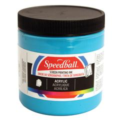 8 oz. Acrylic Screen Printing Ink Dark Blue