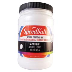 Acrylic Screen Printing Ink White 32oz