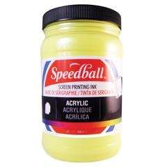 Acrylic Screen Printing Ink Primrose Yellow 32oz