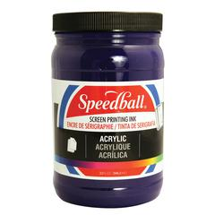 Acrylic Screen Printing Ink Violet 32oz.