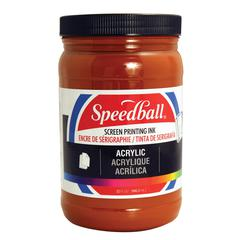 Speedball Acrylic Screen Printing Ink Brown 32oz.