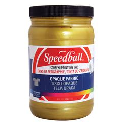 Opaque Fabric Screen Printing Ink Gold