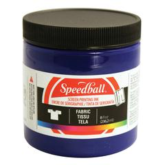 Speedball 8 oz. Fabric Screen Printing Ink Process Cyan