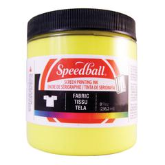 Speedball 8 oz. Fabric Screen Printing Ink Process Yellow