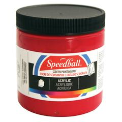 Speedball 8 oz. Acrylic Screen Printing Ink Process Magenta