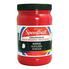 Speedball Acrylic Screen Printing Ink Process Magenta 32oz.