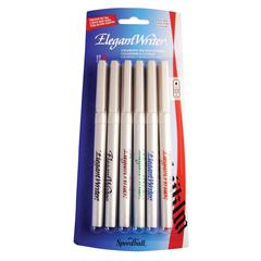 Calligraphy 6-Color Fine Marker Set