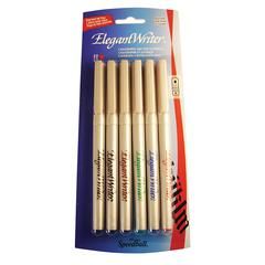 Calligraphy 6-Color Medium Marker Set
