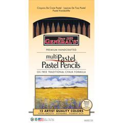 Pastel Pencil 12-Color Set
