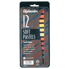 Earth Tones Soft Pastels 12-Color Set