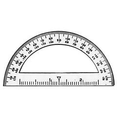 "C-Thru 3 1/2"" Mini Protractor"