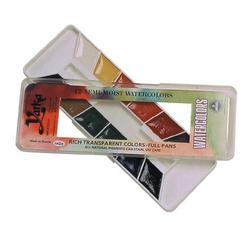 12-Color Watercolor Paint Set