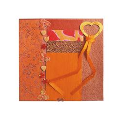 Blue Hills Studio Treasure Chest Paper Collection Embellishment Pack Fire Opal