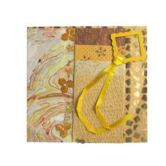 Paper Collection Embellishment Pack Golden Topaz