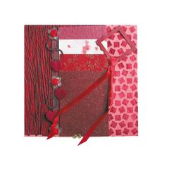 Blue Hills Studio Treasure Chest Paper Collection Embellishment Pack Ruby
