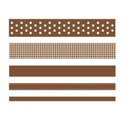 American Crafts Premium Ribbon Box Brown