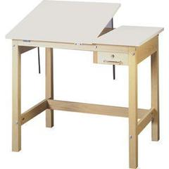 SMI Unfinished 24 x 36 Split-Top Table