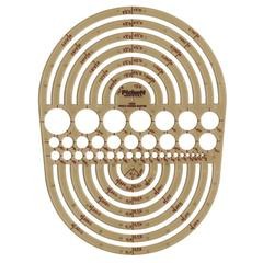 Pickett Circle Radius Master Template