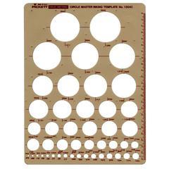 Pickett Metric Circle Master Template