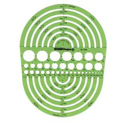 Rapidesign Circle Radius Master Template