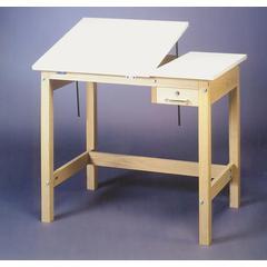 SMI Unfinished 30 x 42 Split-Top Table