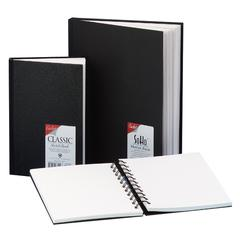 Cachet 10 x 10 Classic Black Wirebound Sketch Book