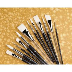 Princeton Better Synthetic Bristle Watercolor and Acrylic Brush Fan 4