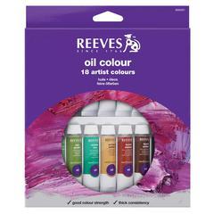 Reeves 10ml Oil Color Paint 18-Color Set