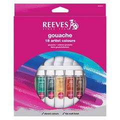 Reeves 10ml Gouache Watercolor Paint 18-Color Set