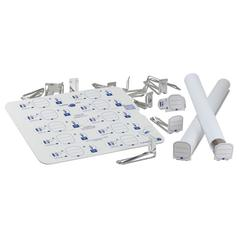 "Labeling System with 50 Tags and 1-5/8"" Clips"