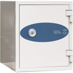 Datacare 1-Hour Key Lock Fireproof Media Safe 0.26 cu ft