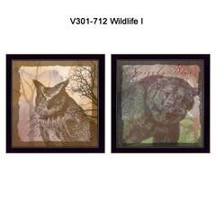 """""""Wildlife Collection"""" Collection By Barb Tourtillotte, Black Frame"""