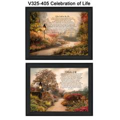 """""""Celebration of Life"""" Collection By Robin-Lee Vieira, Black Frame"""