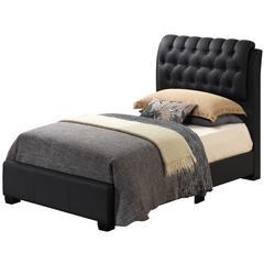 Glory Furniture Marilla G1500C-TB-UP Twin Bed, Black